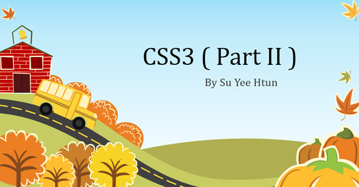 CSS3 Knowledge and Examples Part 2